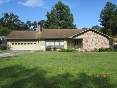 Berrien County, Brooks County, Cook County, Lanier County, Lowndes County Single Family Home For Sale: 2600 Rolling Hill Drive