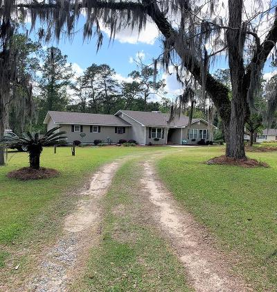 Berrien County, Brooks County, Cook County, Lanier County, Lowndes County Single Family Home For Sale: 2961 Pecan Plantation Road