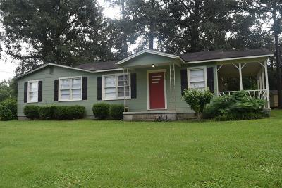Berrien County, Brooks County, Cook County, Lanier County, Lowndes County Single Family Home For Sale: 3419 Old Clyattville