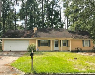 Single Family Home For Sale: 2312 Chattooga Dr