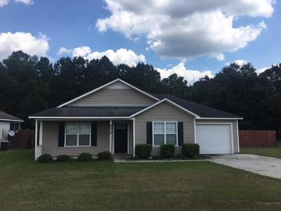 Valdosta GA Single Family Home For Sale: $112,000