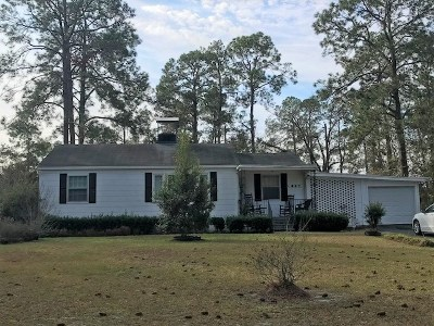 Berrien County, Brooks County, Cook County, Lanier County, Lowndes County Single Family Home For Sale: 607 Pinetree Rd