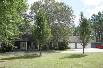 Berrien County, Brooks County, Cook County, Lanier County, Lowndes County Single Family Home For Sale: 4168 McDonald Lane