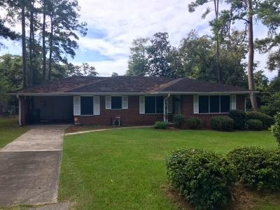 Berrien County, Brooks County, Cook County, Lanier County, Lowndes County Single Family Home For Sale: 1311 W Park