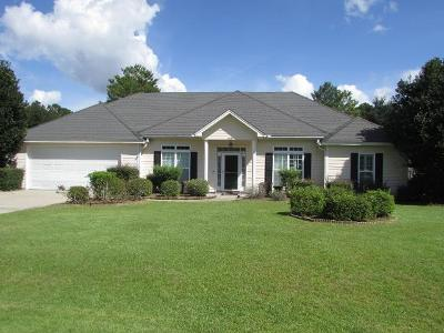 Berrien County, Brooks County, Cook County, Lanier County, Lowndes County Single Family Home For Sale: 808 Sand Crane Circle