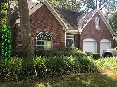 Berrien County, Brooks County, Cook County, Lanier County, Lowndes County Single Family Home For Sale: 3219 Wildwood Plantation Cr