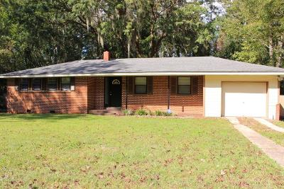 Valdosta GA Single Family Home For Sale: $82,500