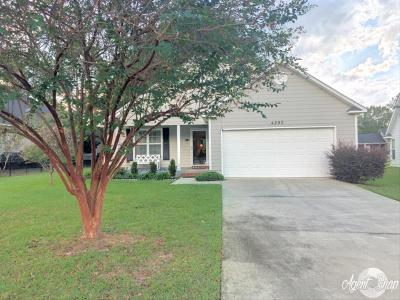 Valdosta Single Family Home For Sale: 4290 Sonoma Drive