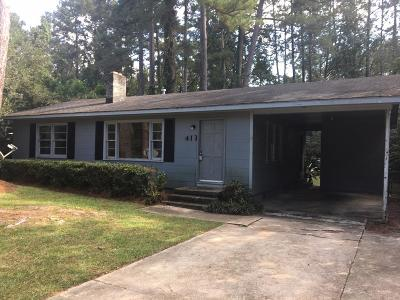 Valdosta GA Single Family Home For Sale: $65,000