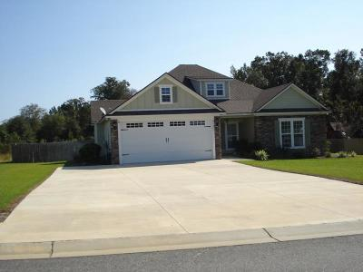 Valdosta Single Family Home For Sale: 3381 Nottinghill Lane