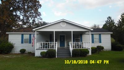 Berrien County, Brooks County, Cook County, Lanier County, Lowndes County Single Family Home For Sale: 552 Pine Branch Lane