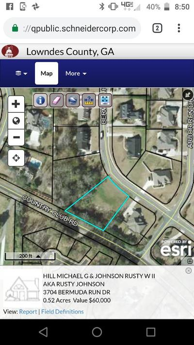 Berrien County, Lanier County, Lowndes County Residential Lots & Land For Sale: 3704 Bermuda
