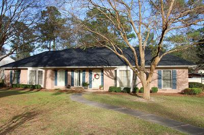 Valdosta Single Family Home For Sale: 2608 Green Meadow Dr.