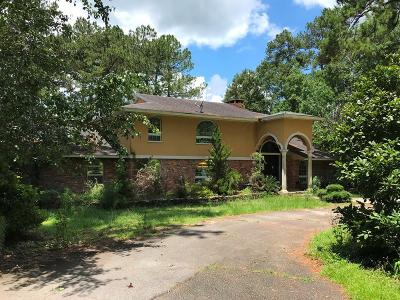 Berrien County, Brooks County, Cook County, Lanier County, Lowndes County Single Family Home For Sale: 836 S Lakeshore