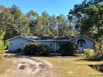 Berrien County, Brooks County, Cook County, Lanier County, Lowndes County Single Family Home For Sale: 616 Hwy 135