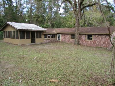 Berrien County, Brooks County, Cook County, Lanier County, Lowndes County Single Family Home For Sale: 6500 Chug A Lug Rd