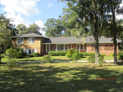 Berrien County, Brooks County, Cook County, Lanier County, Lowndes County Single Family Home For Sale: 6255 Clyattville Lake Park Road