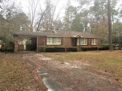 Berrien County, Brooks County, Cook County, Lanier County, Lowndes County Single Family Home For Sale: 305 Highland Heights Drive