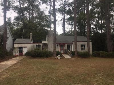 Berrien County, Brooks County, Cook County, Lanier County, Lowndes County Single Family Home For Sale: 806 E Park Avenue
