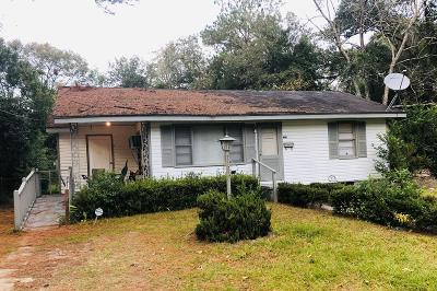 Berrien County, Brooks County, Cook County, Lanier County, Lowndes County Single Family Home For Sale: 726 E Jane Street
