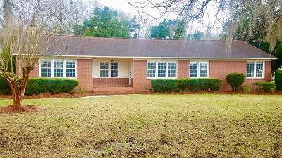 Single Family Home For Sale: 121 W Thigpen Ave.