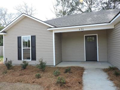 Single Family Home For Sale: 430 Spanish Moss Lane