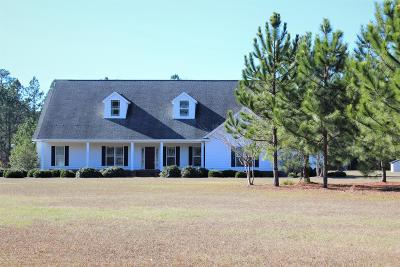 Berrien County, Brooks County, Cook County, Lanier County, Lowndes County Single Family Home For Sale: 444 Whitehurst Rd