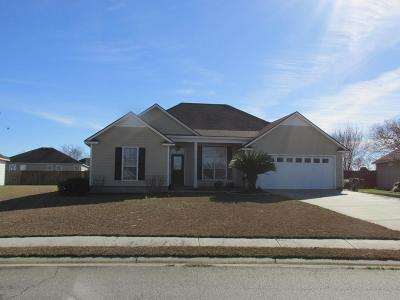 Valdosta GA Single Family Home For Sale: $165,000