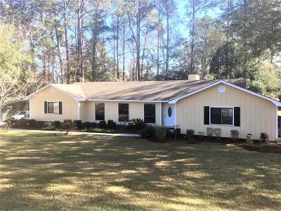 Single Family Home For Sale: 2201 Gornto Road