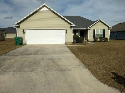 Valdosta GA Single Family Home For Sale: $130,000