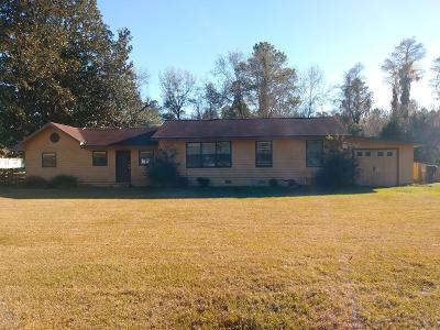 Berrien County, Brooks County, Cook County, Lanier County, Lowndes County Single Family Home For Sale: 4315 S First St.