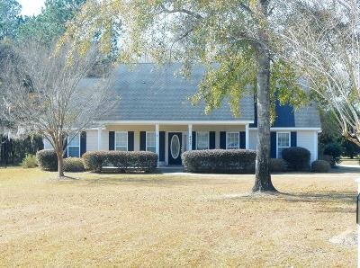Berrien County, Brooks County, Cook County, Lanier County, Lowndes County Single Family Home For Sale: 4317 Lenora Drive