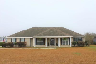 Valdosta GA Single Family Home For Sale: $185,000