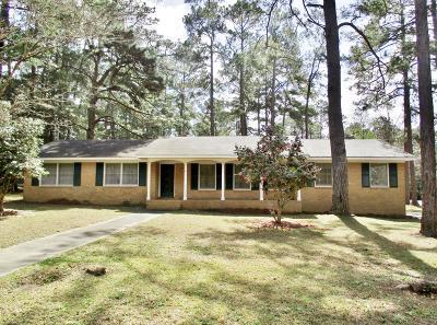 Valdosta GA Single Family Home For Sale: $145,000