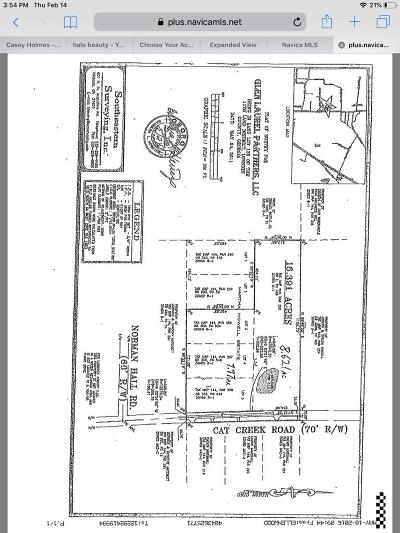 Berrien County, Lanier County, Lowndes County Residential Lots & Land For Sale: Cat Creek Road