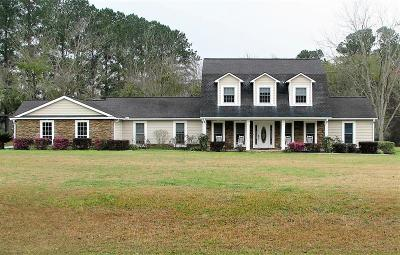 Berrien County, Brooks County, Cook County, Lanier County, Lowndes County Single Family Home For Sale: 3423 Stallings