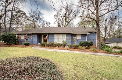 Single Family Home For Sale: 3801 Sedgefield Drive