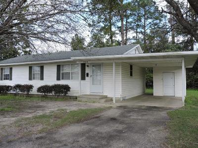 Berrien County, Brooks County, Cook County, Lanier County, Lowndes County Single Family Home For Sale: 806 N Parrish Ave