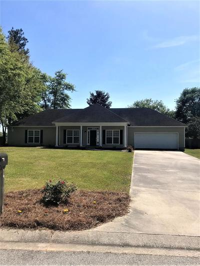 Berrien County, Brooks County, Cook County, Lanier County, Lowndes County Single Family Home For Sale: 4299 Conway Circle