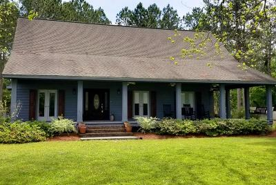 Single Family Home For Sale: 454 Carters Mill Rd