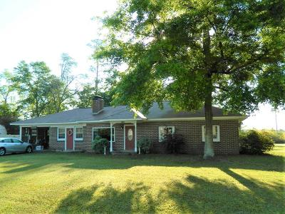 Berrien County, Brooks County, Cook County, Lanier County, Lowndes County Single Family Home For Sale: 1606 Hwy 76