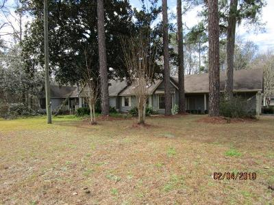 Berrien County, Brooks County, Cook County, Lanier County, Lowndes County Single Family Home For Sale: 133 N Brantley St.