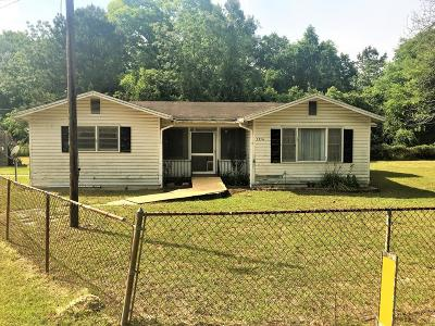 Lowndes County Single Family Home For Sale: 5354 Madison Highway