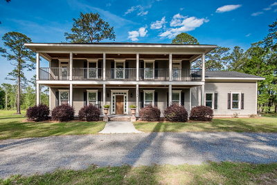 Single Family Home For Sale: 3262 Stallings Road