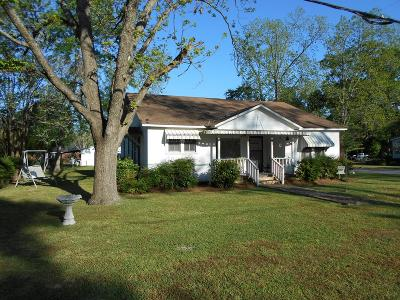Berrien County, Brooks County, Cook County, Lanier County, Lowndes County Single Family Home For Sale: 186 George