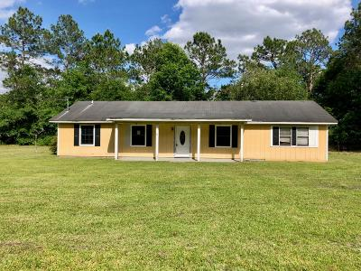 Berrien County, Brooks County, Cook County, Lanier County, Lowndes County Single Family Home For Sale: 116 Main Rd.