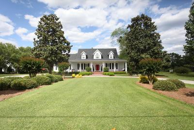 Berrien County, Brooks County, Cook County, Lanier County, Lowndes County Single Family Home For Sale: 5876 Shiloh Road