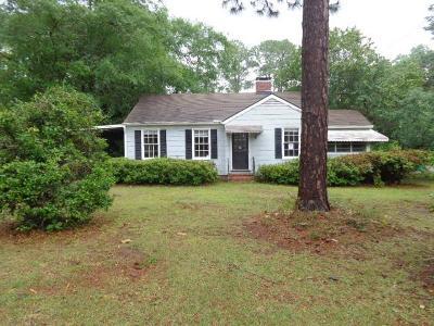 Valdosta GA Single Family Home For Sale: $63,000