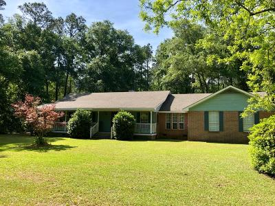 Berrien County, Brooks County, Cook County, Lanier County, Lowndes County Single Family Home For Sale: 6674 Radio Station Road