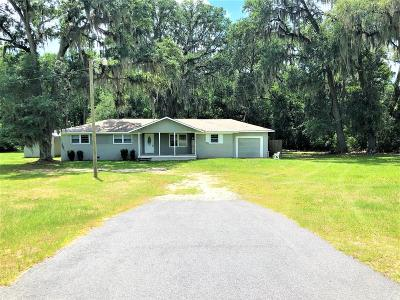 Single Family Home For Sale: 16000 Valdosta Hwy